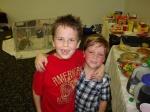 Camden & cousin Skyler at Thanksgiving in Nashville