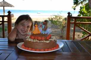 Myla celebrated her 6th birthday last weekend at the retreat! It was a special place to be for her birthday!