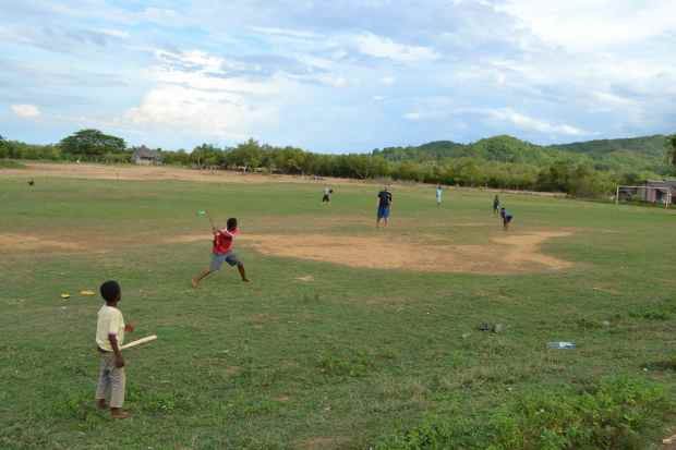 Camden and I introduced baseball to the local kids... they love it! Pray for our friends Rivaldo and Franklin, who we have come to love and have a desire to know God